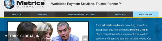 Financial Services Company Web Design