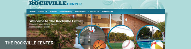 Sports Recreational Facility Web Design